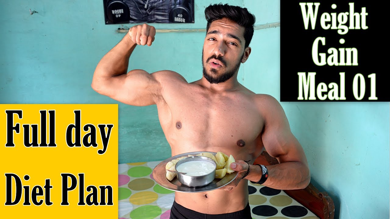 Cheap Full Day Diet Plan to GAIN WEIGHT | Meal 01 ...