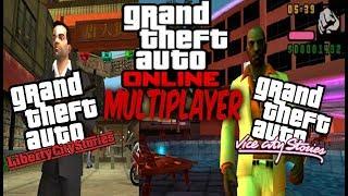 GTA LIBERTY CITY STORIES Y GTA VICE CITY STORIES CON MULTIJUGADOR ONLINE PARA PSP Y PPSSPP