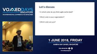 Better leaders. Better organizations - Voxxed Days Singapore 2018