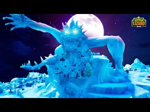 THE MONSTER CRACKS THE ICE *NEW SEASON 9* - Fortnite Short Film |