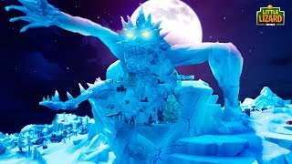 THE MONSTER CRACKS THE ICE *NEW SEASON 9* - Fortnite Short Film