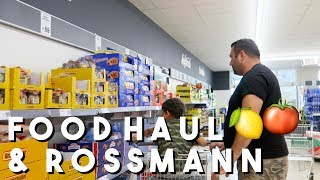 FOOD & ROSSMANN HAUL | VLOG | FILIZ