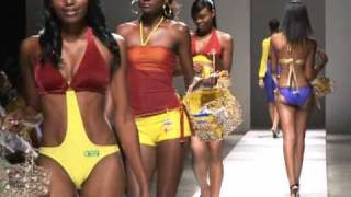 St Marys Banana Chips at Caribbean Fashion Week 2009, Jamaica
