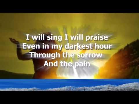 I Will Sing - Don Moen Karaoke with lyrics.