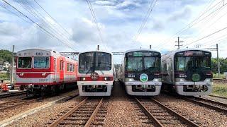 【前面展望】神鉄トレインフェスティバル2019 見津車庫行き特別列車