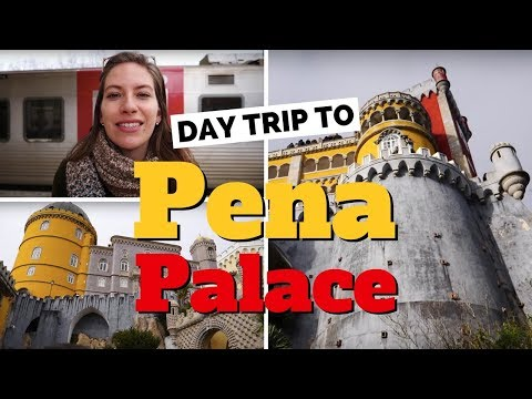 Visiting Pena Palace | Day Trip to Sintra from Lisbon, Portugal