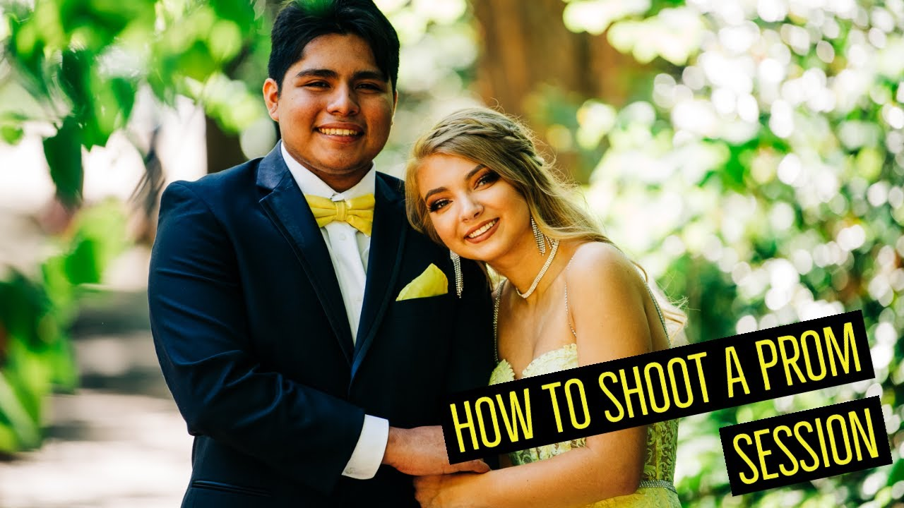 How to Shoot Prom Pictures! Tips - Equipment - Lighting - Posing
