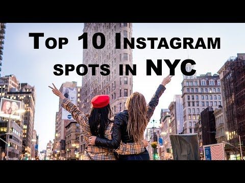 An Influencers Guide To The Top 10 NYC Instagram Photo Locations