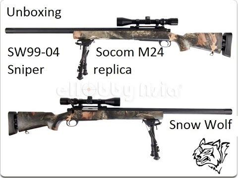 Snowwolf m24 v. zombie killer return test - YouTube