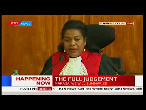Justice Njoki Ndung'u's conquering opinion on the electoral amendment laws