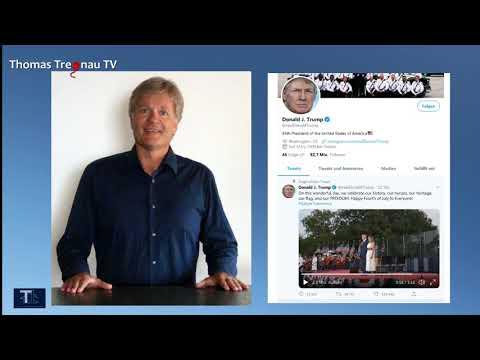 Trumps Rede zum Unabhängigkeitstag auf Deutsch
