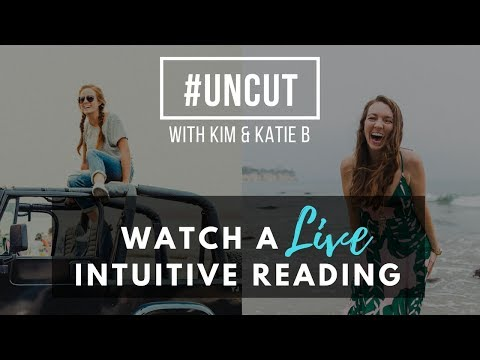 #UNCUT: KATIE GIVES KIM A LIVE ENERGY SCAN & INTUITIVE READING