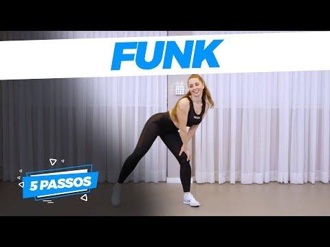 5 Passos de Dança Fitness - FUNK EMAGREÇA DANÇANDO  Playdance Fit