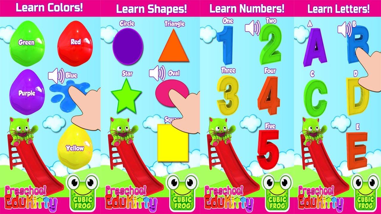 EduKitty™-Early Learning Preschool Color Games For Kids - YouTube