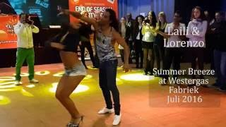 Laili & Lorenzo demo Brazilian Zouk @ Westergas, Amsterdam juli 2016