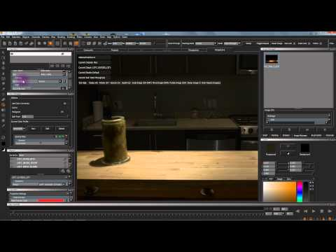 MARI 1.3 HDR Ptex Tutorial Part 2: Painting in Mari