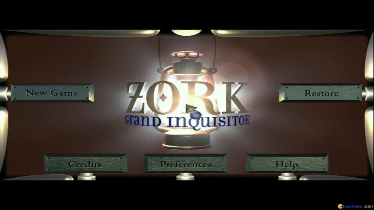 Zork Grand Inquisitor Gameplay Pc Game 1997