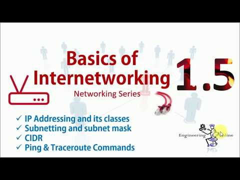 Basics Of Internetworking (Part 5) | Module 01 | Networking Series
