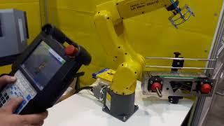 Посещение выставки Mashex Siberia 2018 - Робот манипулятор LR Mate 200iD