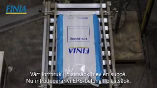 Ny fabrik för EPS-betong
