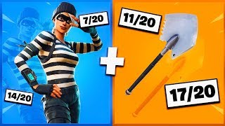 🔥 I NOTE YOUR 20 TRYHARD SKIN COMBOS ON FORTNITE! v26