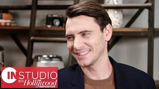 """Harry Lloyd on 'Counterpart' Season 2 & Not Being """"Allowed"""" to Talk to 'GoT' Co-Stars   In Studio"""