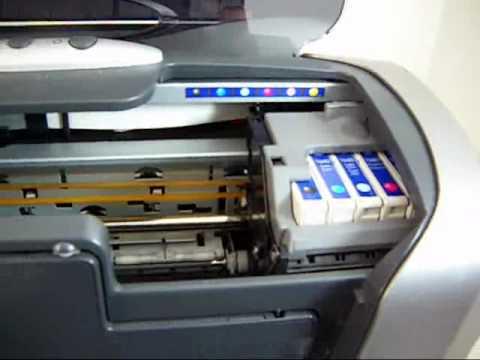 Epson Stylus Photo R200 Printer Youtube