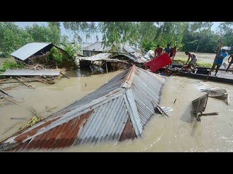 Bangladesh  58 Million  People   Affected  Flood