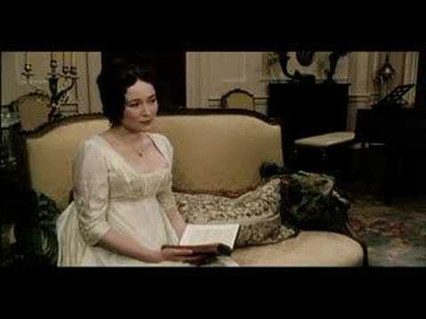 """An accomplished woman... scene from """"Pride & Prejudice"""""""