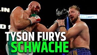 Warum Otto Wallin beinahe Tyson Fury besiegt hat!