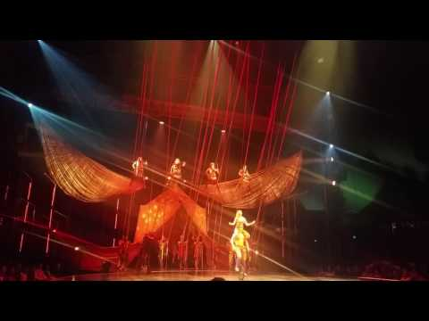 Volta by Cirque du Soleil : The latest Circus show under the Big Top in the Old Port of Montréal.