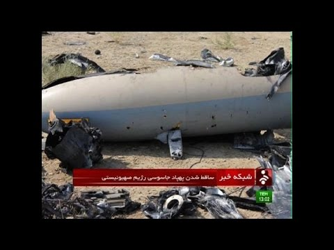 Iran Claims To Have Downed Downed Israeli Drone With Missile