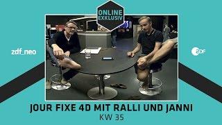 Jour Fixe 4D mit Ralli und Janni - KW 35 | NEO MAGAZIN ROYALE mit Jan Böhmermann - ZDF