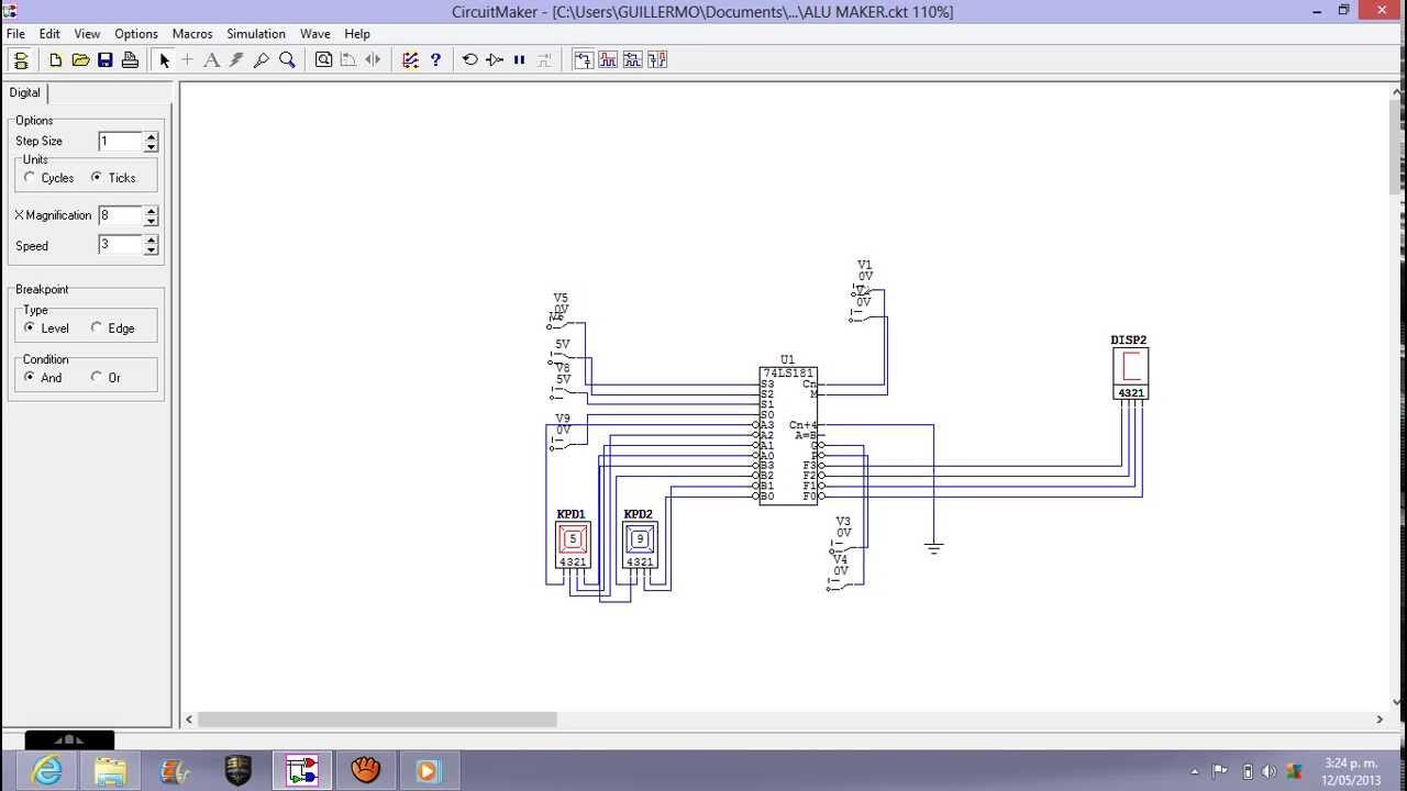 Alu 74181 Logic Diagram Trusted Wiring 4 Bit Youtube Vhdl