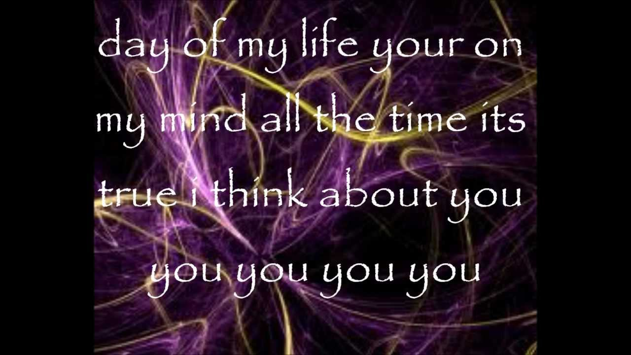 Austin Moon Ross Lynch I Think About You Austin And Ally Lyric Video Youtube