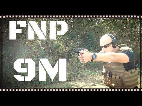 FNH FNP 9M 9mm Pistol Review (HD)