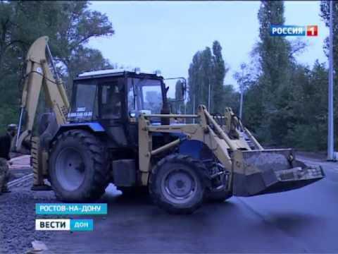 Капитальный ремонт улицы Левобережной в Ростове завершат в ноябре