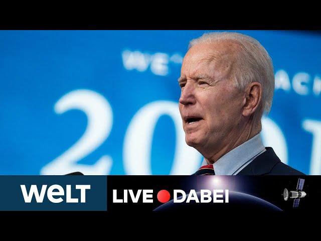 KLIMAGIPFEL: So will US-Präsident Biden gegen den Klimawandel kämpfen | WELT Live dabei