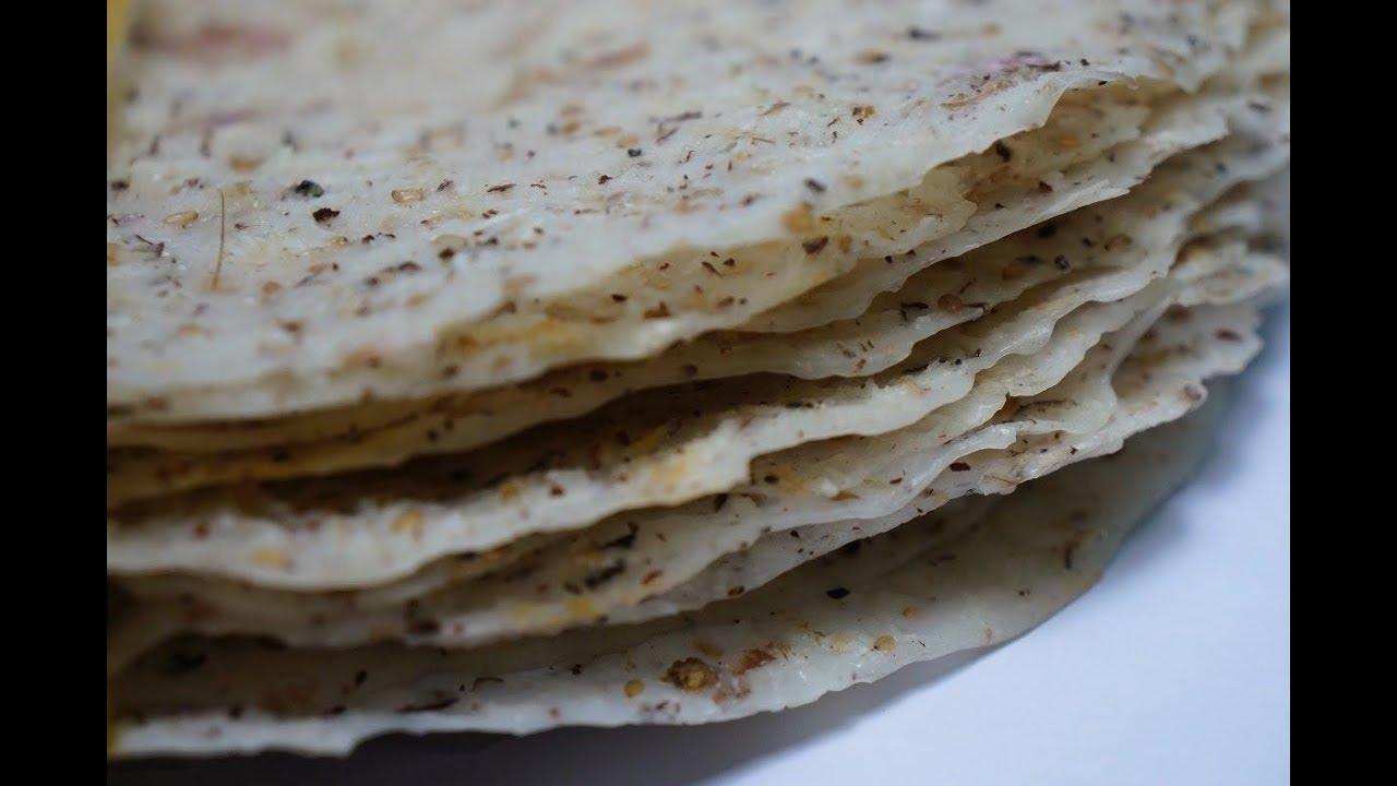 Nông nghiệp sạch số 363 – Bánh tráng nước cốt dừa