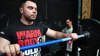 Clean & Jerk WarmUp / weightlifting by Torokhtiy