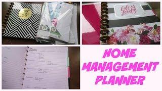 HOME MANAGEMENT PLANNER