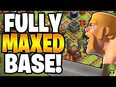 FINALLY 100% MAXED BASE! - Let's Play TH10 - Clash Of Clans