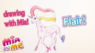 Flair - How to Draw - Drawing with Mia - Mia and me