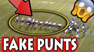 Greatest Fake Punts in Football History