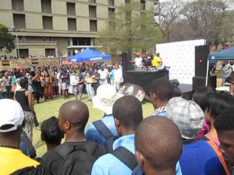 WITS heavy k and dimples on campus fun 2013: watch the fun that students had with the