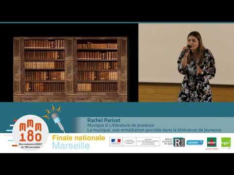 Rachel Parisot - 1er prix du jury - ESPE de l�émie de Reims