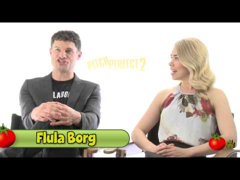 Pitch Perfect 2 Stars Take the master Challenge