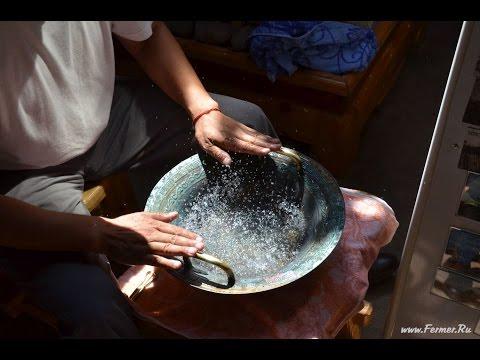 Поющая чаша кованая Антик, Диаметр 17 см, Ми, 660 Гц YouTube