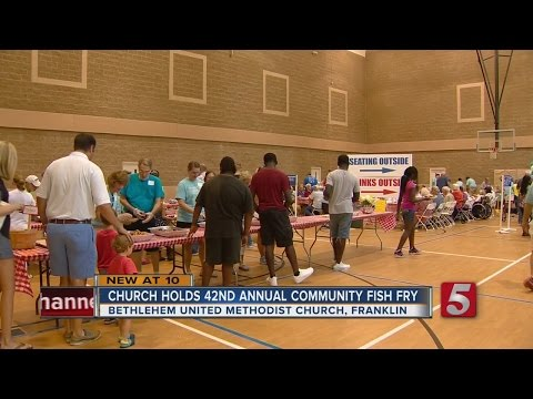 Bethlehem United Methodist Holds 42nd Annual Fish Fry