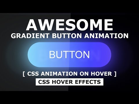 Glowing Gradient Button Animation Effects On Hover Using Html And CSS - CSS Animation Effects